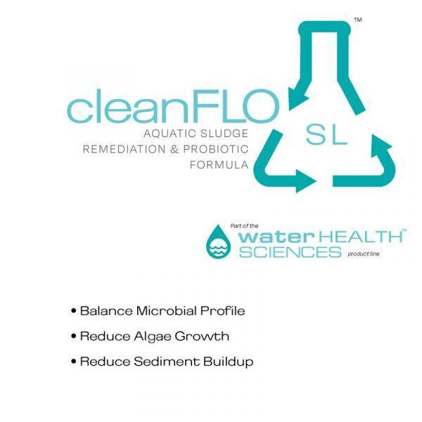 Clean Flo SL - Aquatic Sludge Remediation Probiotic from Eco Health Industries