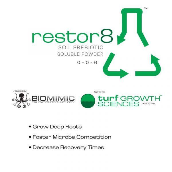 Restor8 - Turf Prebiotic Soluble Powder from Eco Health Industries