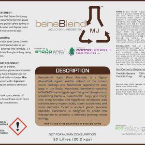 BeneBlend MJ - Liquid Soil Probiotic from Eco Health Industries