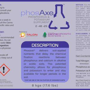 Phosaxe | Soil Applied Nutrient Delivery from Eco Health Industries
